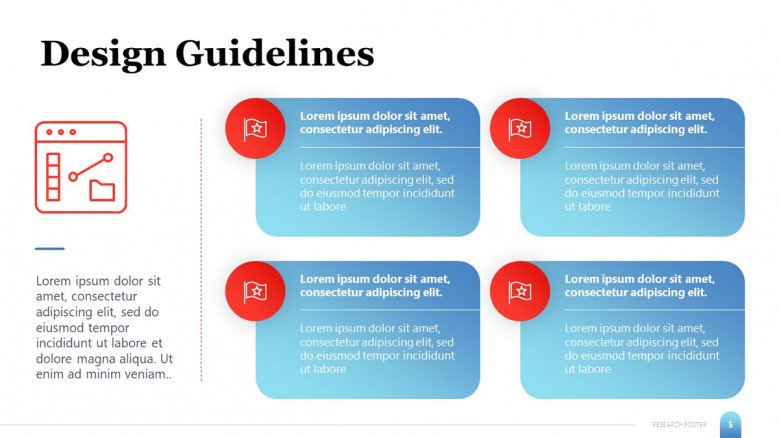 Design Guidelines for research posters