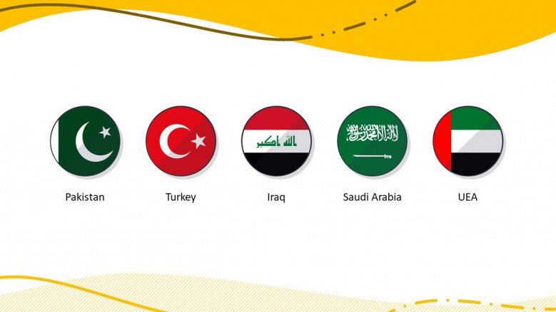 Country Flag Icon PowerPoint Slide