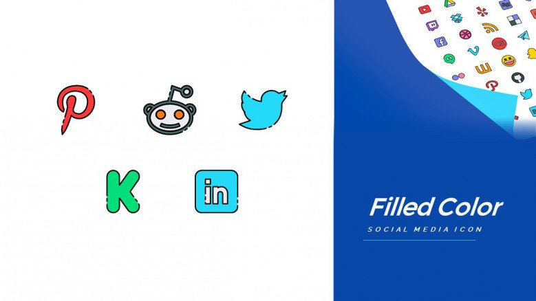 Top Social Media Icons for free