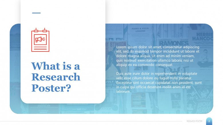 Research Poster Introduction slide