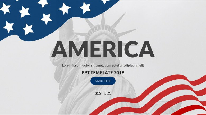 United States of America PowerPoint Presentation