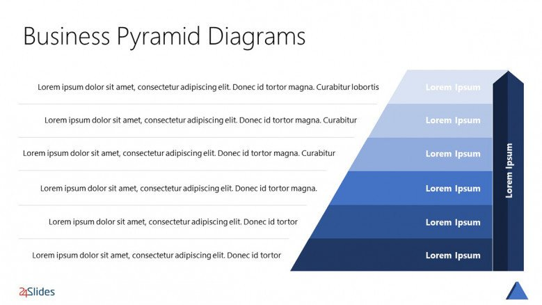 Pyramid Hierarchy PowerPoint Template