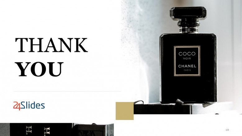 Deluxe Thank You Slide