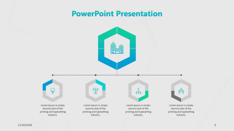 consulting presentation in timeline chart