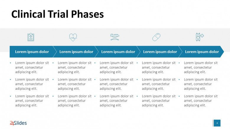 Clinical Trial Phases Presentation Slide