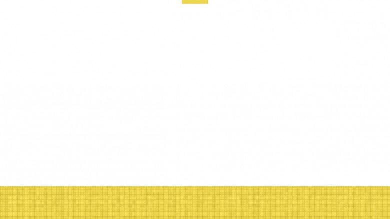 corporate background in white with yellow line