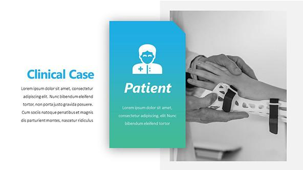 Clinical Patient Case Study in PowerPoint