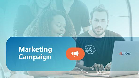 Creative Marketing Campaign PowerPoint Template