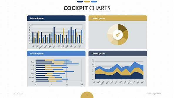 cockpit chart templates free powerpoint templates