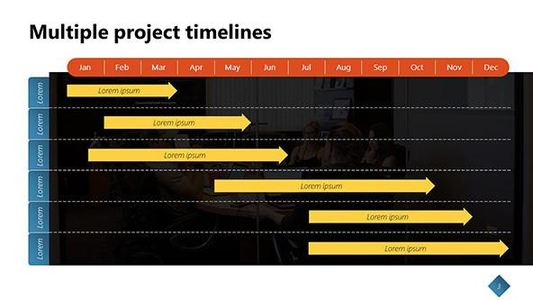 Creative timelines in PowerPoint
